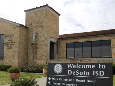 DeSoto ISD administration building in DeSoto, Texas on Thursday, September 5, 2020.