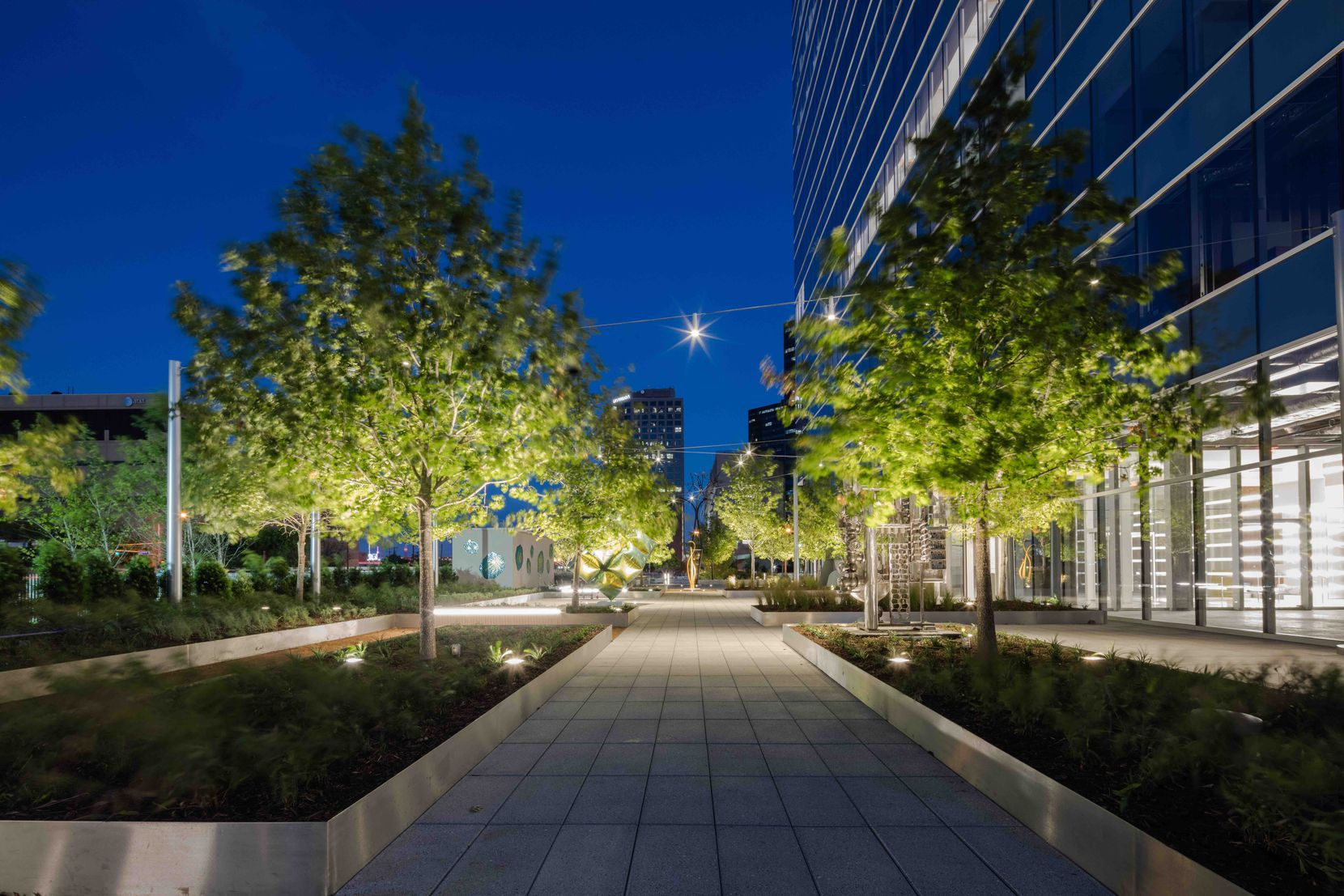 Part of Serendipity Labs' new location will open to the sculpture walk at KPMG Plaza.