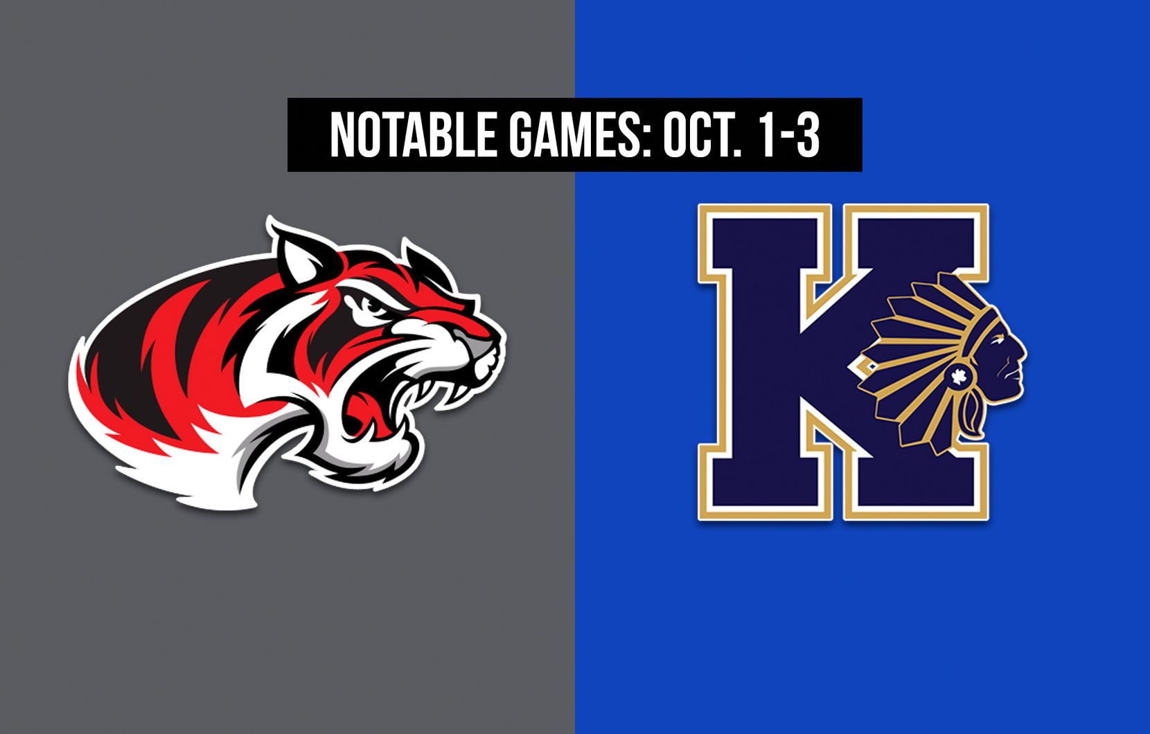 Notable games for the week of Oct. 1-3 of the 2020 season: Denton Braswell vs. Keller.