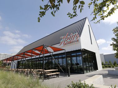 Heim Barbecue in Dallas opened Oct. 22, 2020. It's the third Heim restaurant and the first in Dallas.