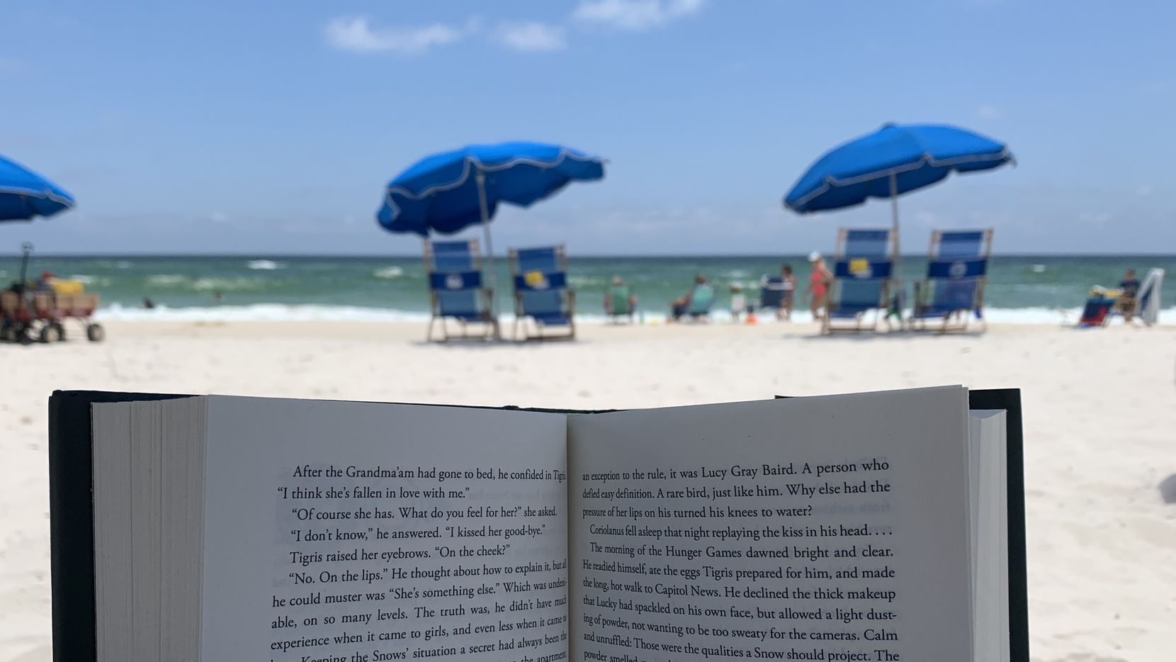 It turns out that our impulse to read at the beach is backed up by science.