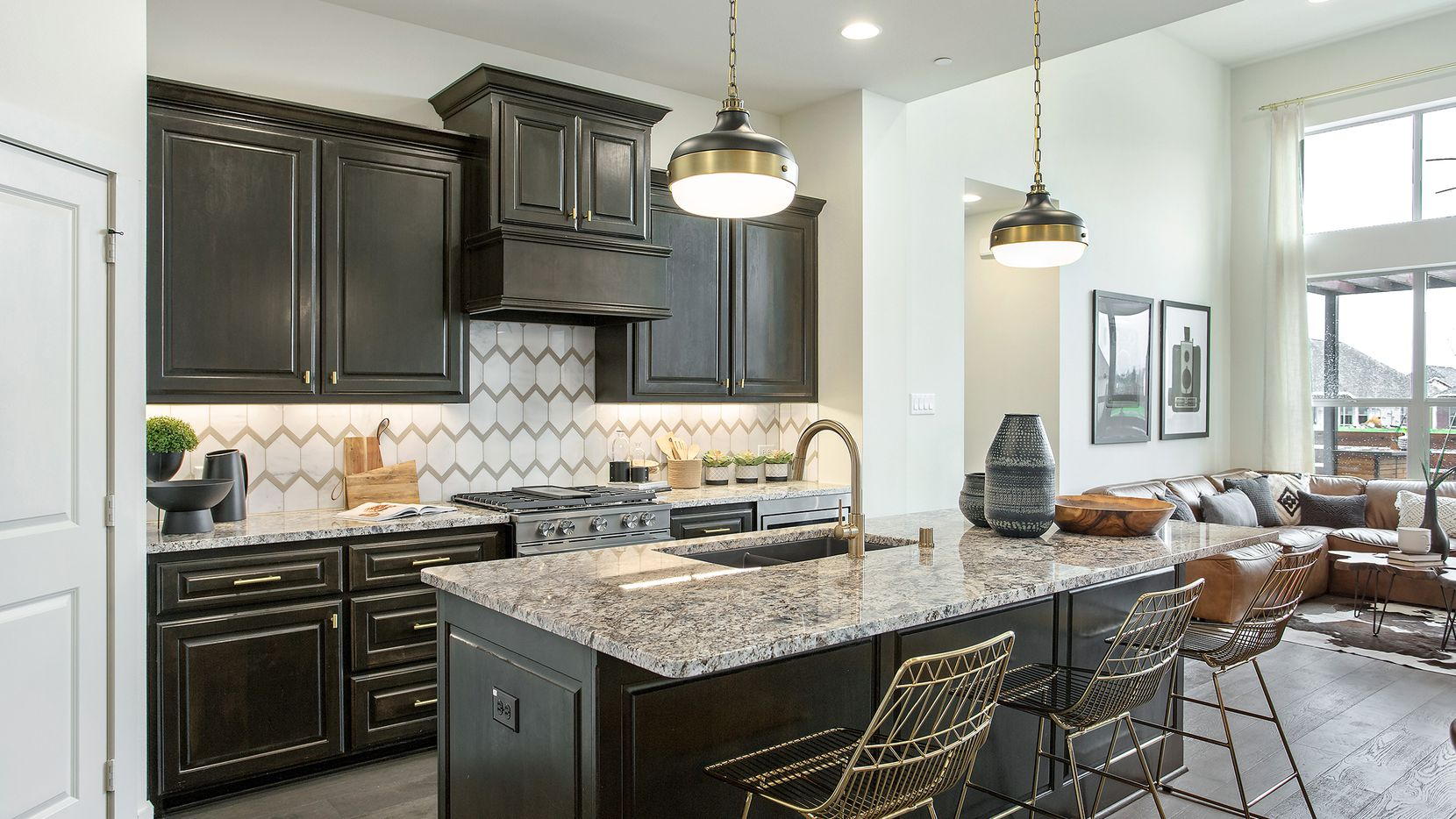 Grenadier Homes' new model in Garland's Riverset community is at 1706 Greatfield Drive.