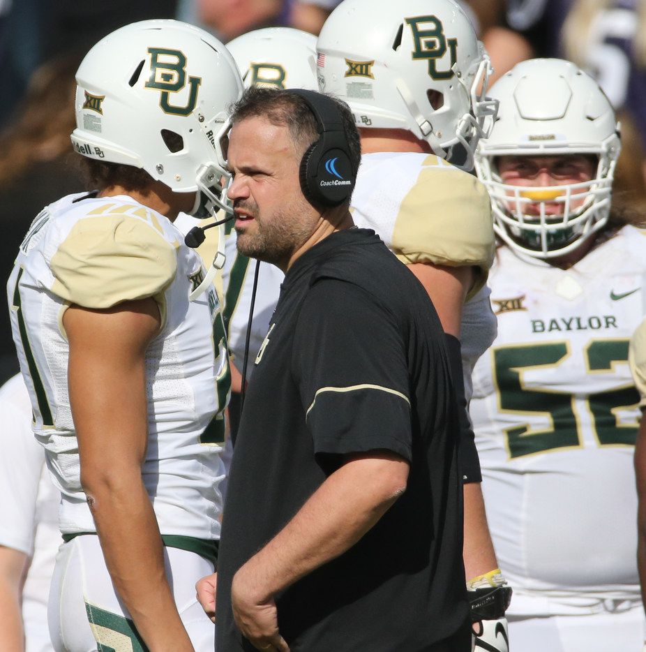 Meet The New Members Of Matt Rhule S Baylor Coaching Staff