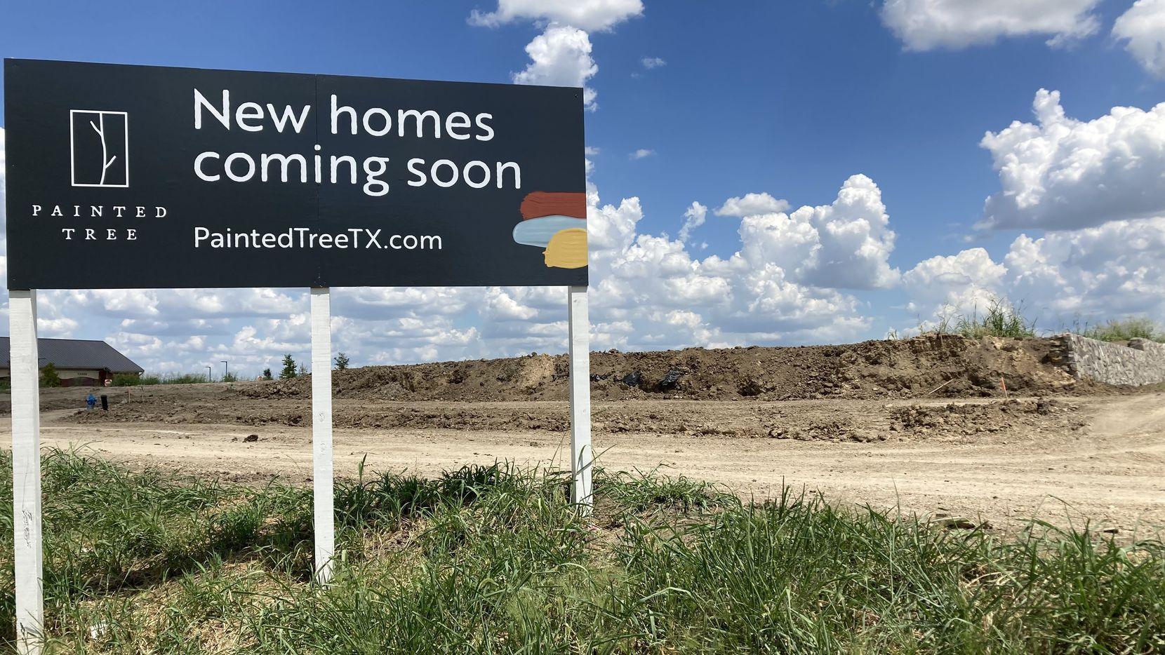 The Painted Tree community under construction on U.S. 380 in McKinney is one of the largest new residential projects being built in North Texas with more than 3,000 homes.