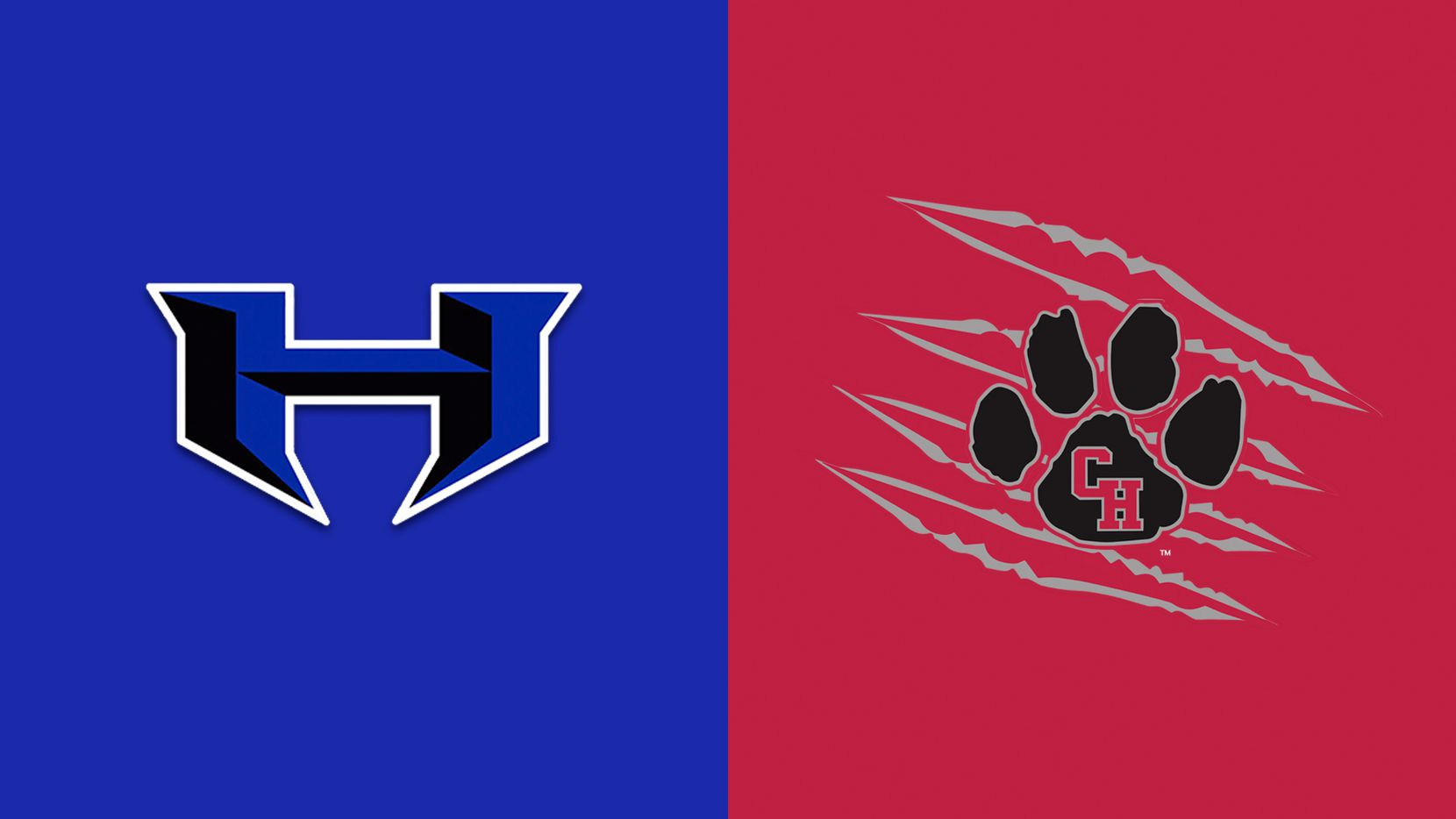 Hebron (left) and Colleyville Heritage.