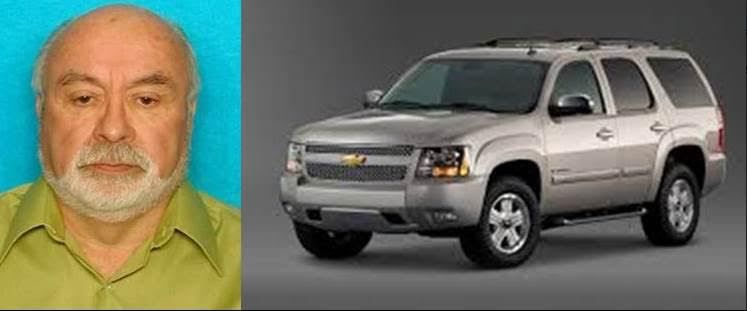 Edward Ernest Vintimilla was last seen driving a beige Chevy Tahoe.