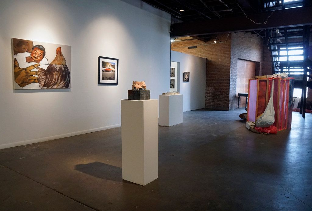 Contemporary art from photography to new media fills the space at 500X Gallery.