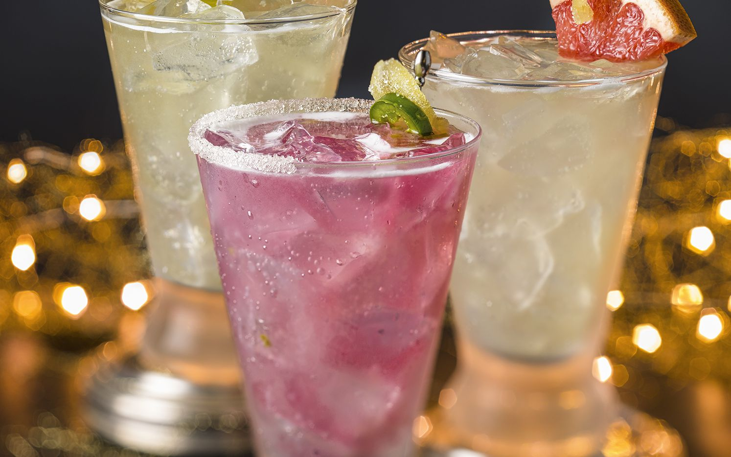 Cantina Laredo will offer a Three Wise Mules drink special during the holiday season. They are, from left, the Classic Mule, Mezcal Mule and Mexi-Mule. They go for $12 a pop.