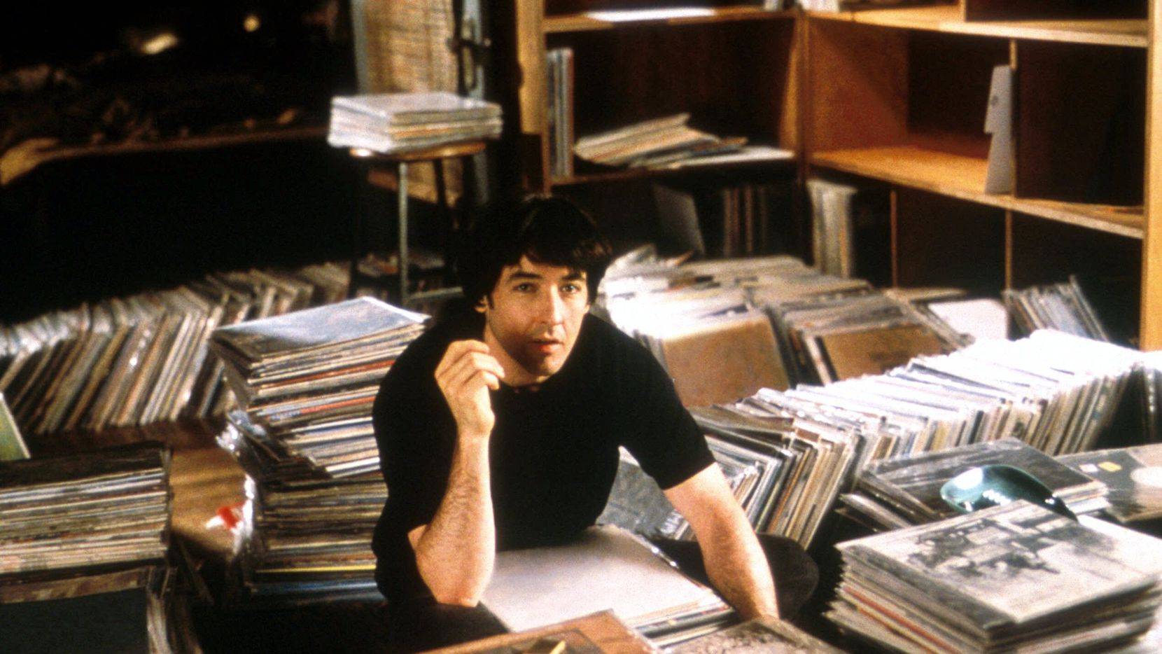 After a string of failed romances, Rob Gordon (John Cusack) struggles to examine life's most baffling issue, love, in Touchstone Pictures' biting romantic comedy, 'High Fidelity.' Twenty years later, Cusack is coming to Dallas to talk about it.