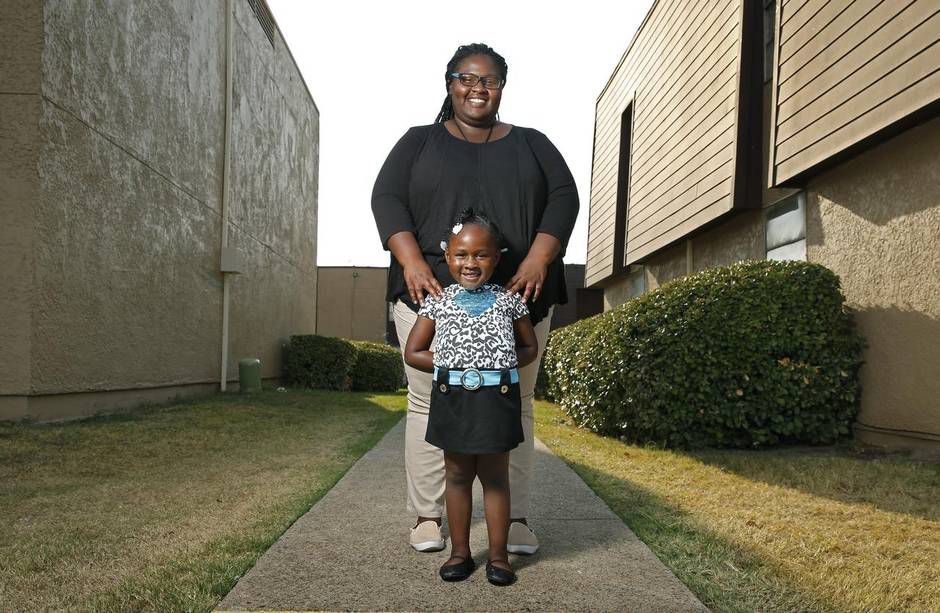 Shanterrica Piper was 14 and nearing the end of her first semester at Duncanville High School when she found out she was pregnant with daughter Arhyanna, who is 4. Piper, now 19, dropped out of high school in her sophomore year, but later got her GED and enrolled in classes at El Centro Community College in Dallas, pursuing a degree in nursing.