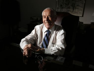 George Schrader, Dallas city manager from 1972-81, died on Thursday, Dec. 31, 2020 of complications from COVID. He was 89.