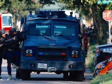 Foto de archivo de otra intervención del equipo de SWAT en Dallas.