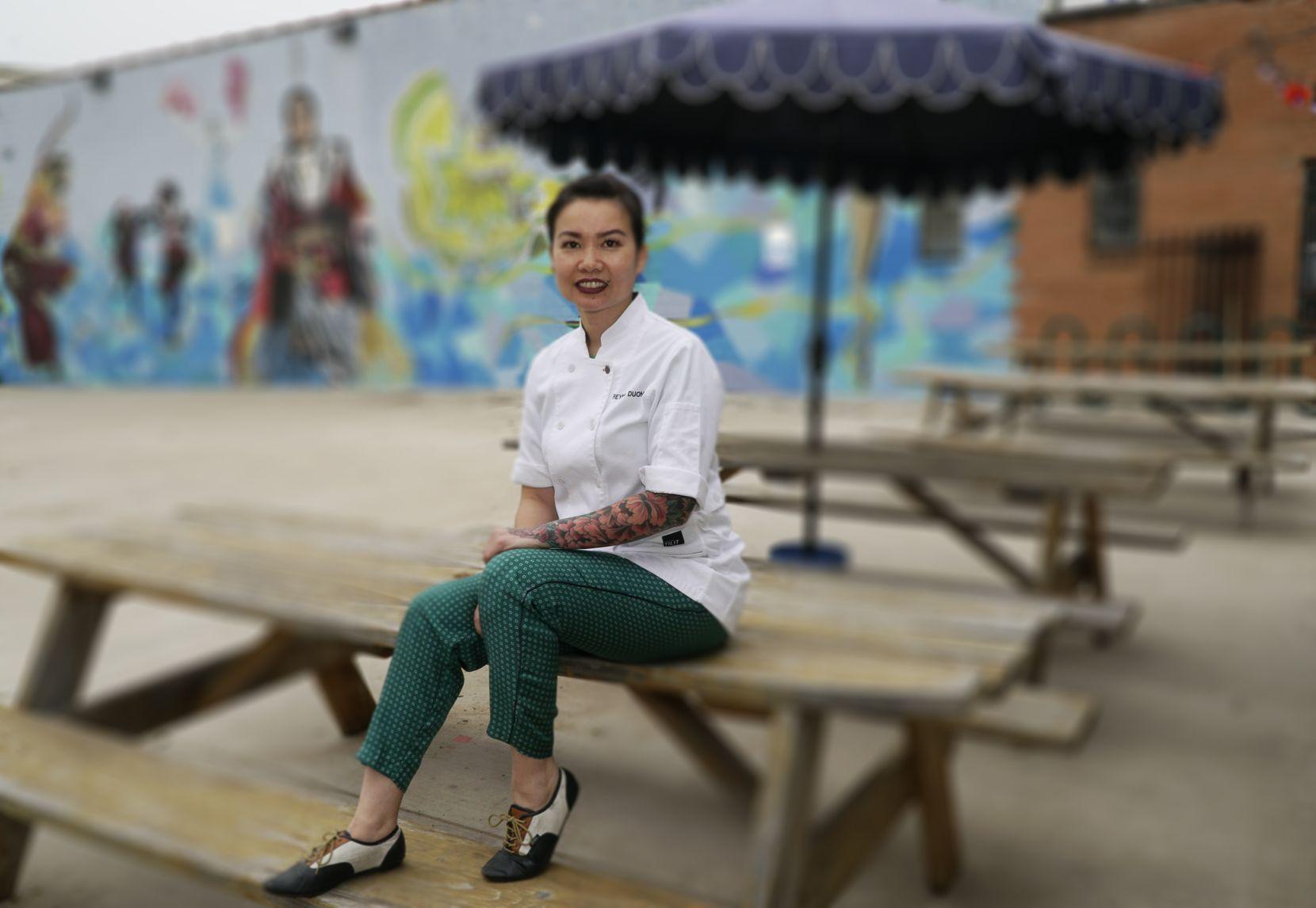 Reyna Duong, owner of Sandwich Hag in Dallas