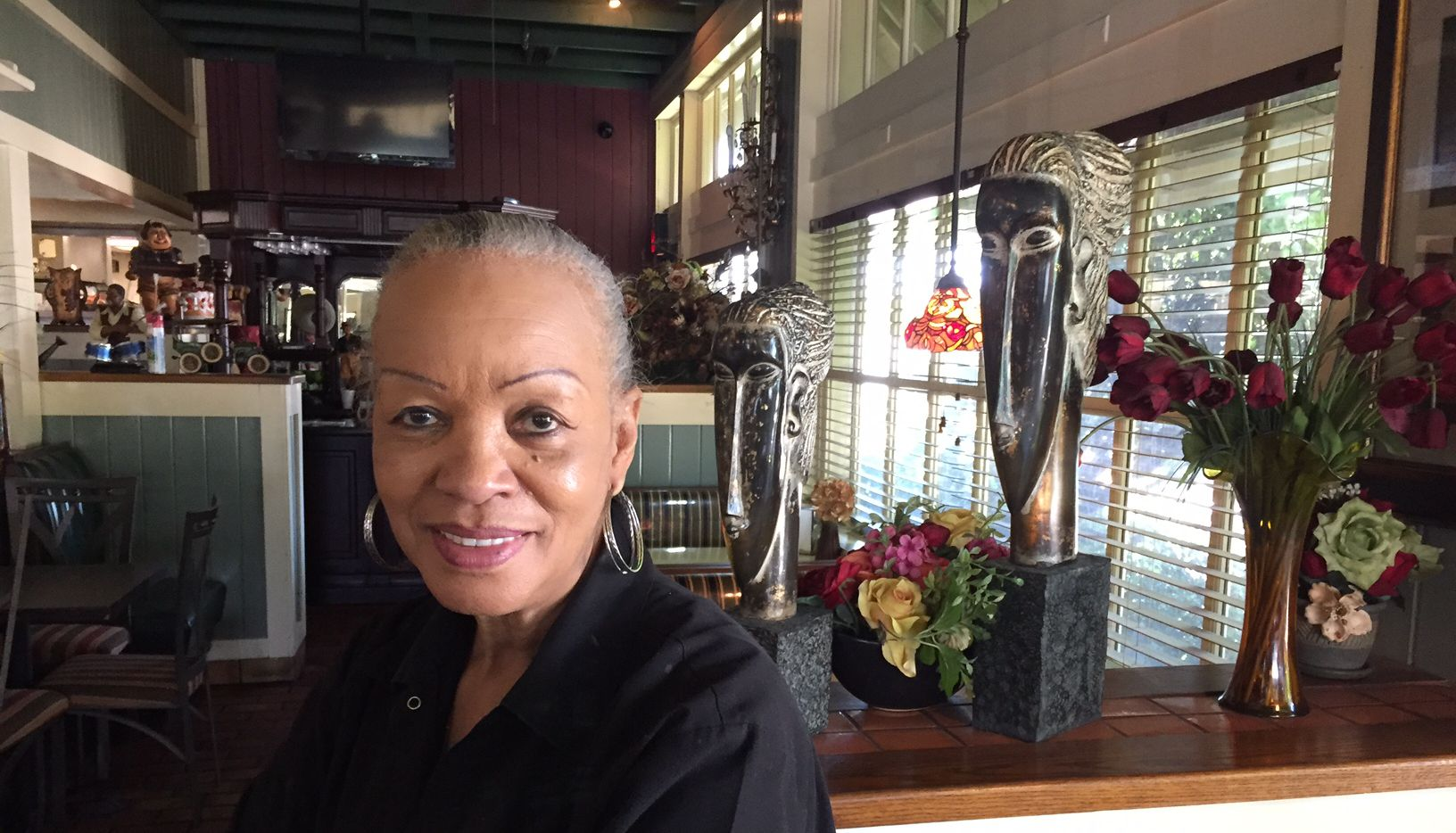 Lorraine Carter, 69, former manager of South Dallas Cafe and still an employee, said she was looking forward to watching the Interfaith Tribute all day. But she became too emotional before it started and decided she couldn't stand to watch.