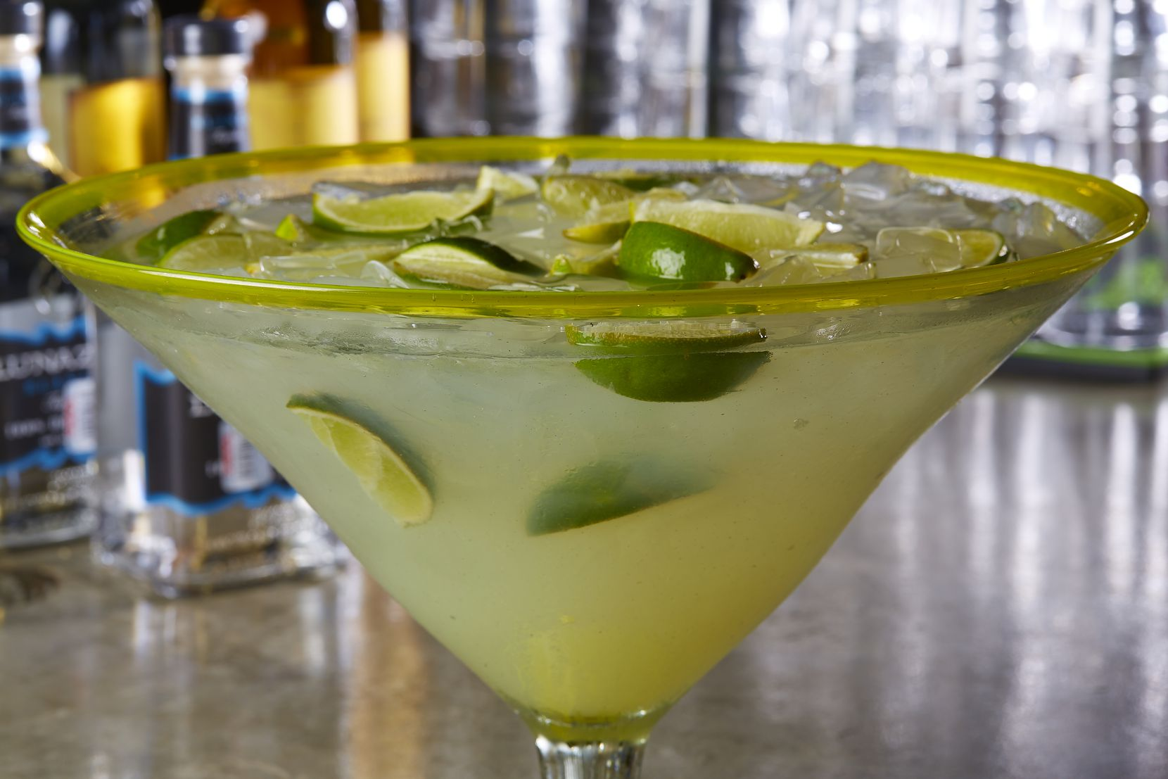 Vidorra in Dallas is offering its shareable Vidorrita specialty margarita for $30 in celebration of National Margarita Day on Feb. 22, 2020.