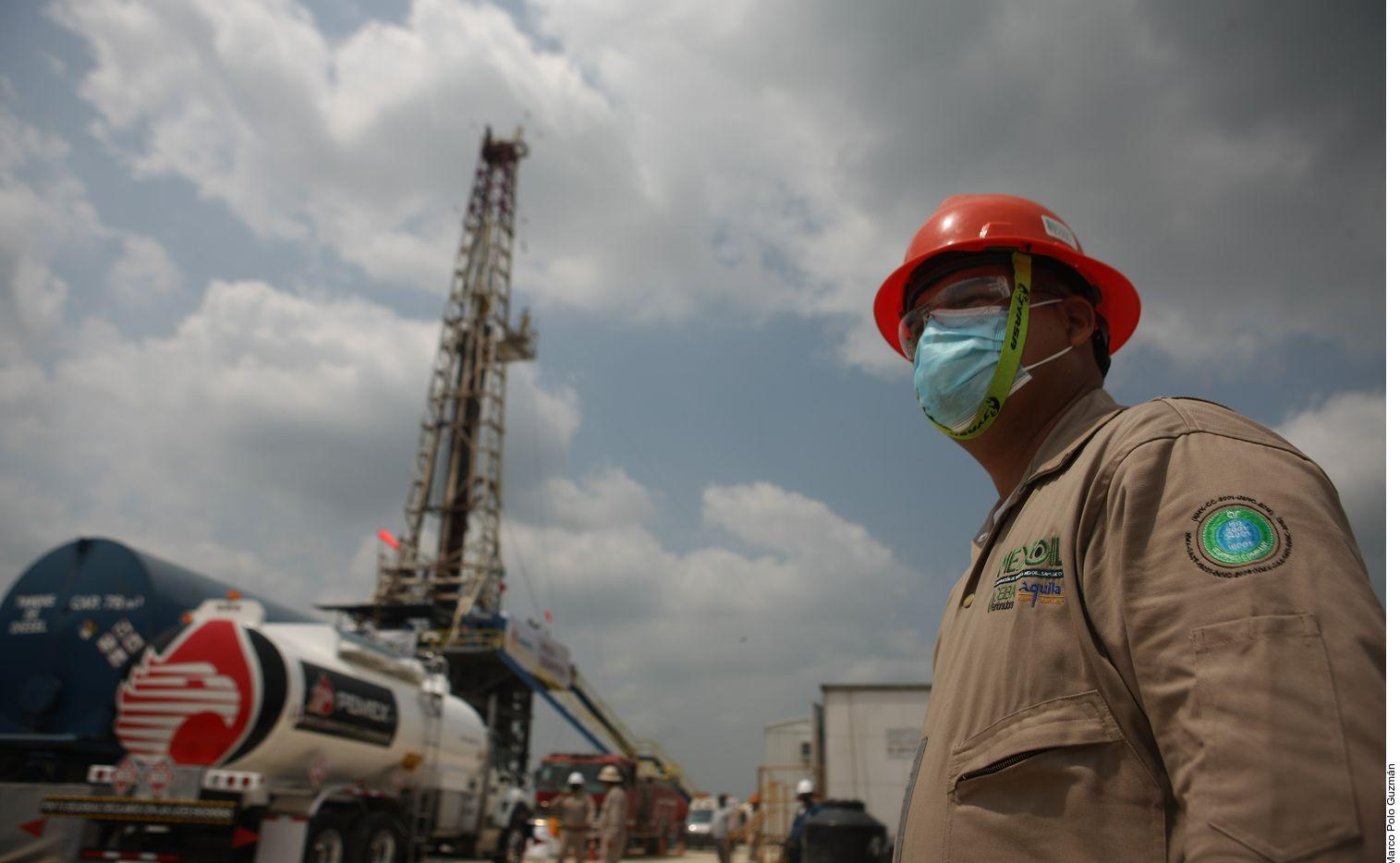 Pemex anunció el descubrimiento del yacimiento terrestre con entre 500 y 600 millones de petróleo crudo equivalente, principalmente en forma de gas natural, el cual formará parte de un nuevo complejo petrolero.