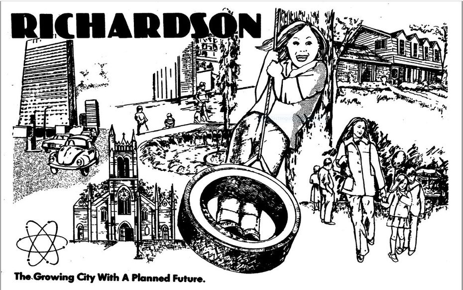 Snip from 'The Growing City With A Planned Future' published June 11, 1978.
