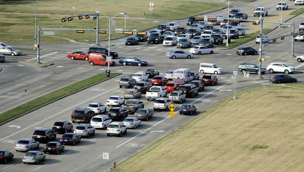 This 2019 file photo shows afternoon traffic at the intersection of Preston Road and Park Boulevard in Plano.