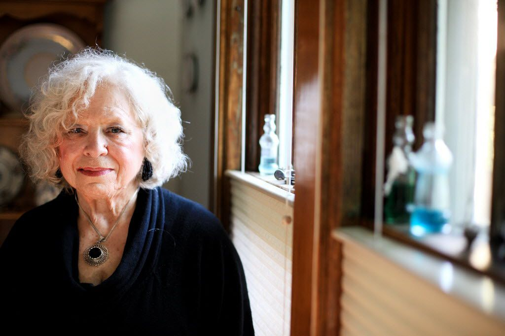 Mary Pillsworth, shown in her home in Little Falls, N.Y., in 2013, recalled having no doubt that President John F. Kennedy was dead immediately after he was shot in Dallas. (Andy Jacobsohn/Special Contributor)