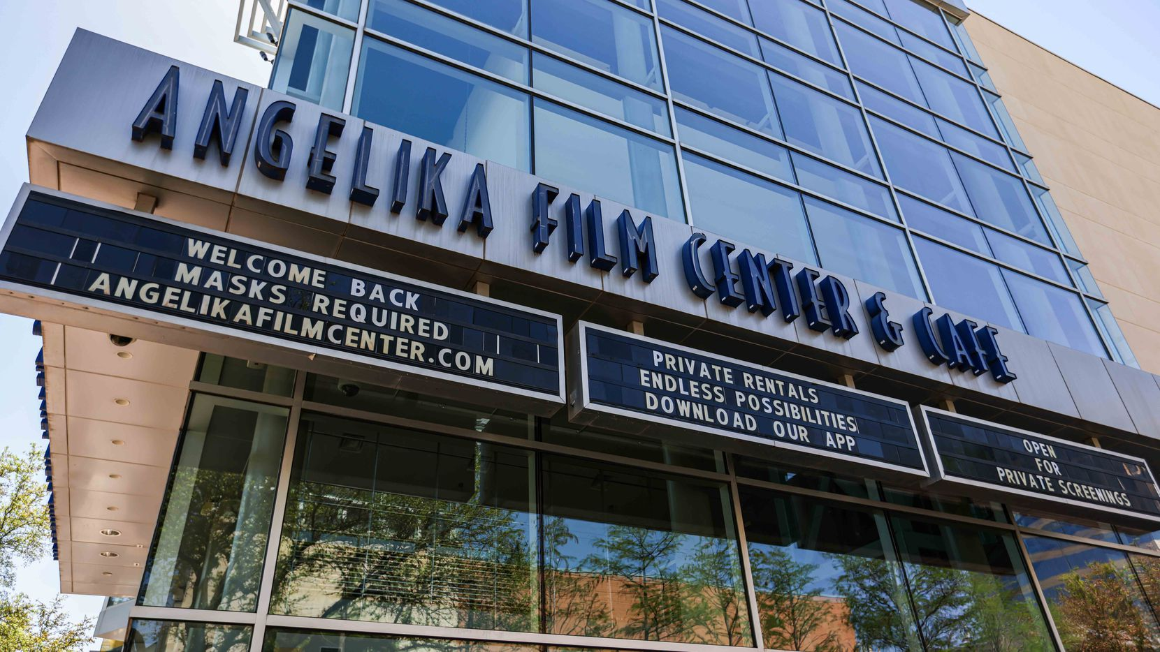 The Angelika Film Center & Cafe in Plano reopens Thursday.