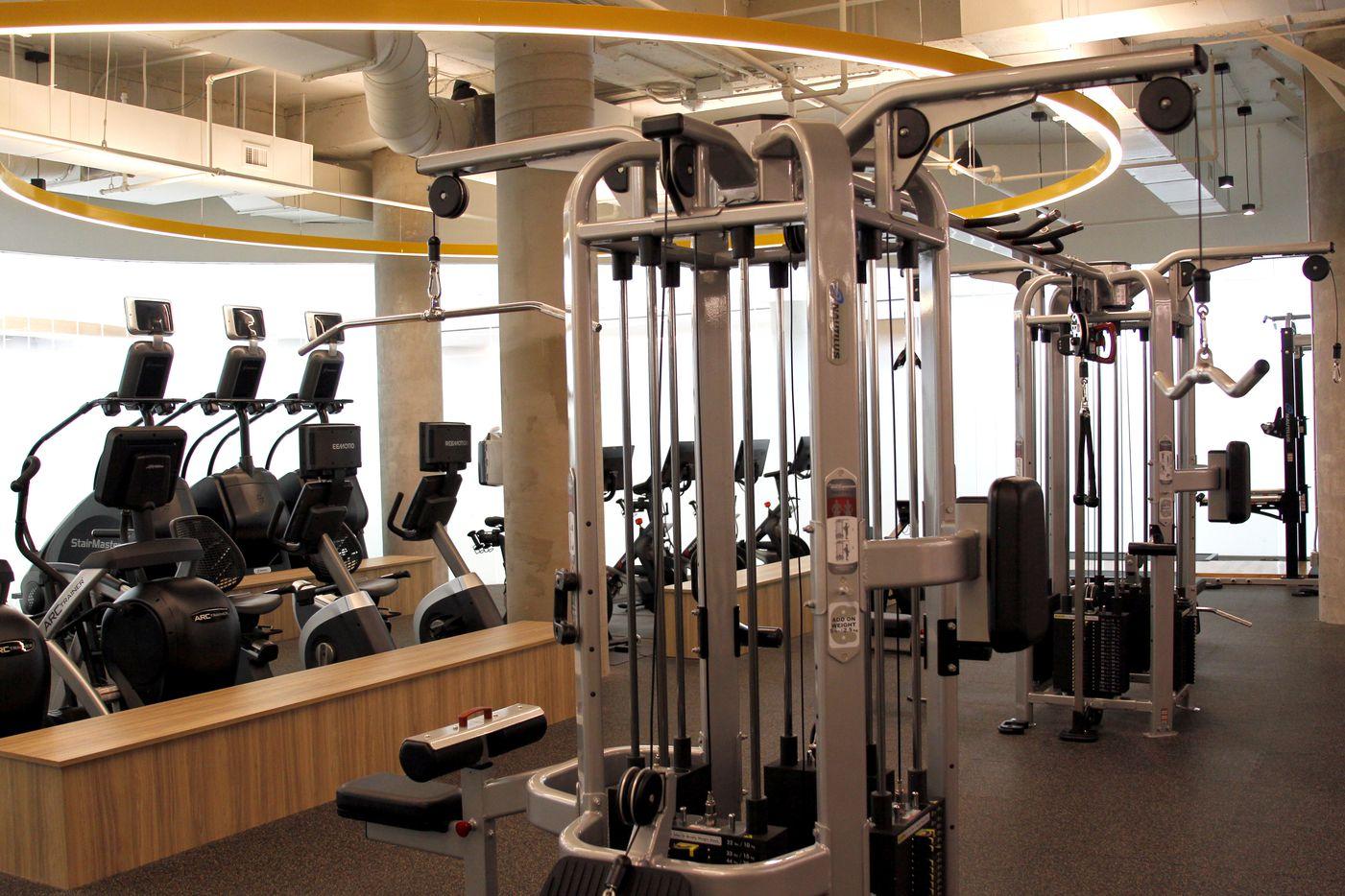 The new fitness center in the Lincoln Centre complex.