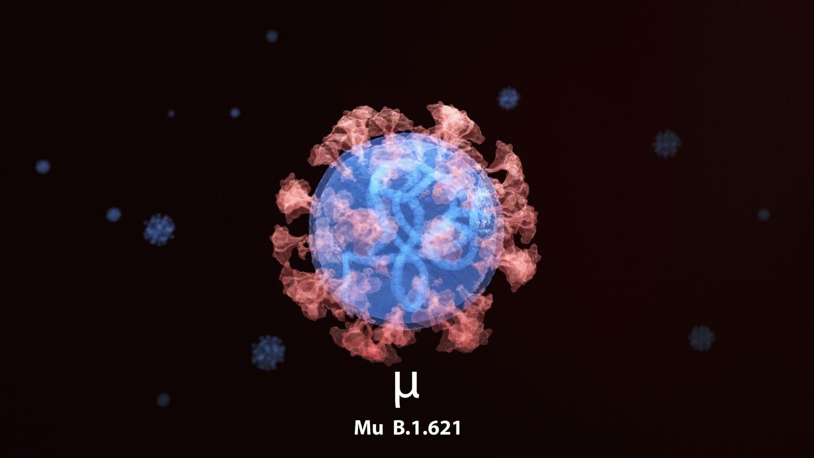 La variante mu (μ) o B.1.621, de coronavirus, ha sido detectada en el área de Dallas. ¿Qué hay que saber de ella?