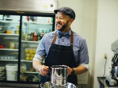 Clyde Greenhouse is owner of Kessler Baking Studio in Dallas.