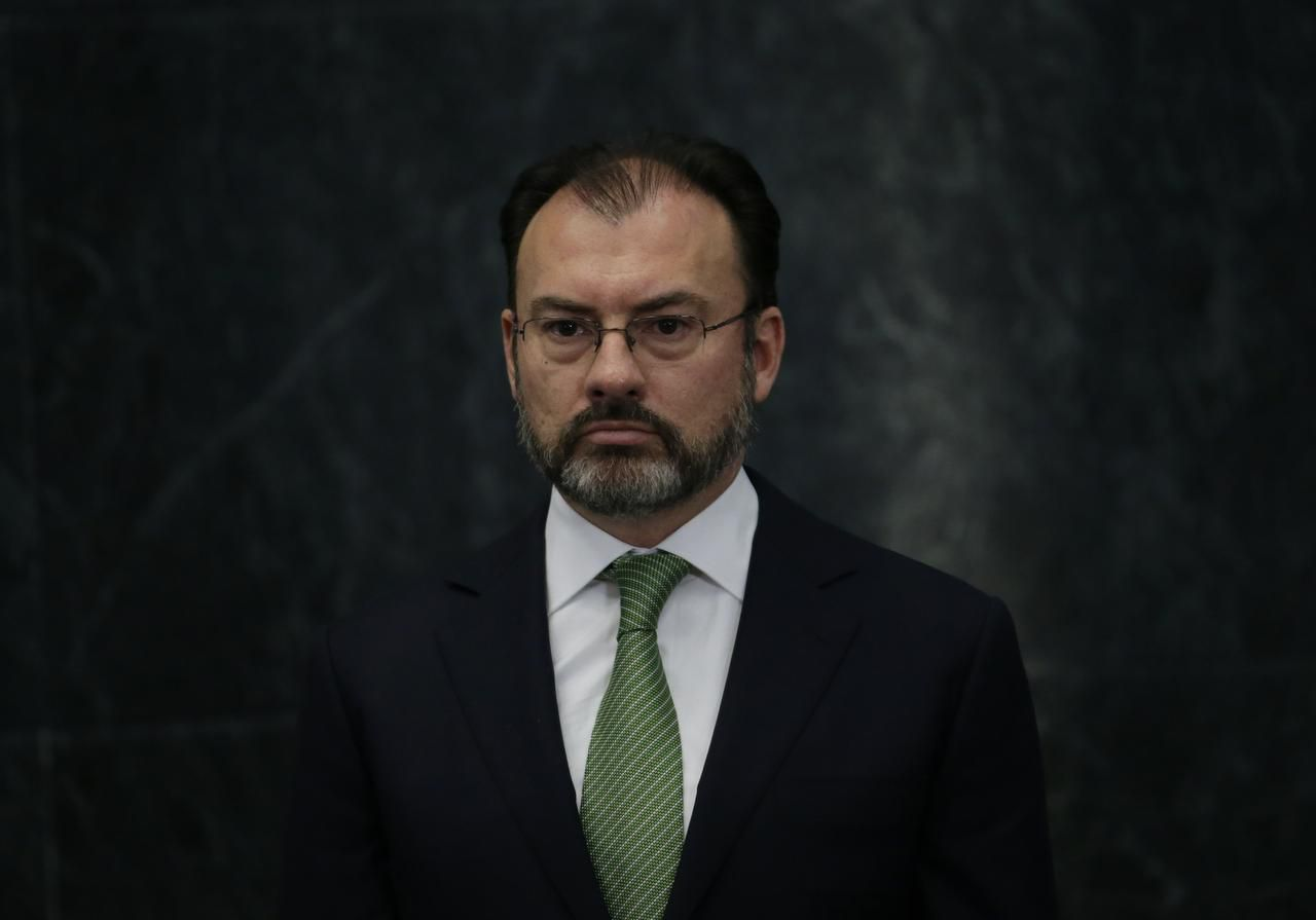 El nuevo secretario de Relaciones Exteriores de México Luis Videgaray. (AP/MARCO UGARTE)