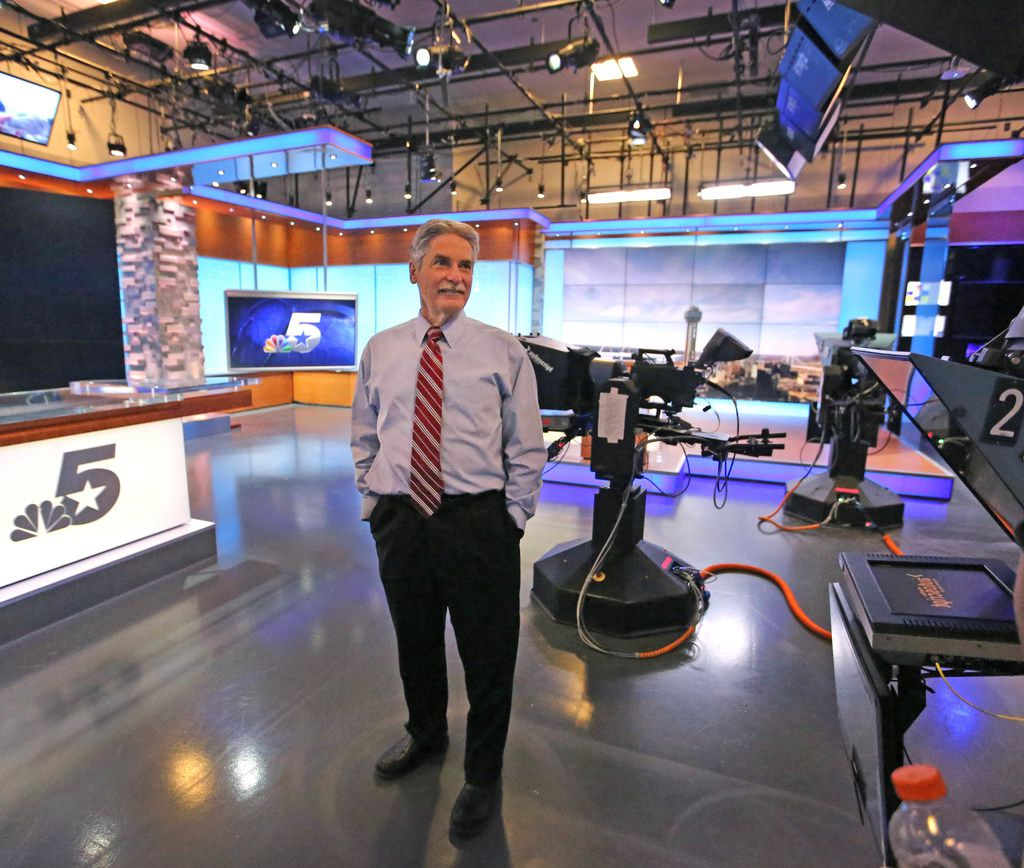 David Finfrock was the second chief meteorologist for KXAS-TV (NBC5).