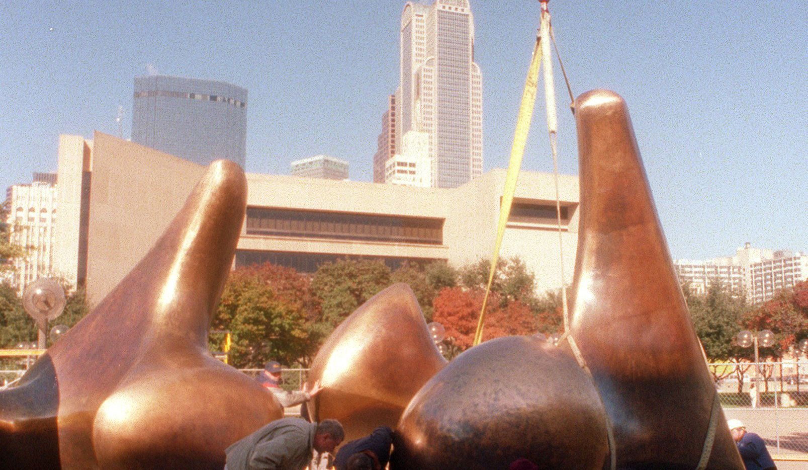 Today in Dallas photo history - 1976: Henry Moore ...