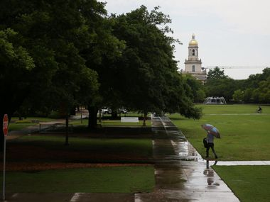 A view of Pat Neff Hall on the campus of Baylor University in Waco, Texas Thursday May 26, 2016. (Andy Jacobsohn/The Dallas Morning News)