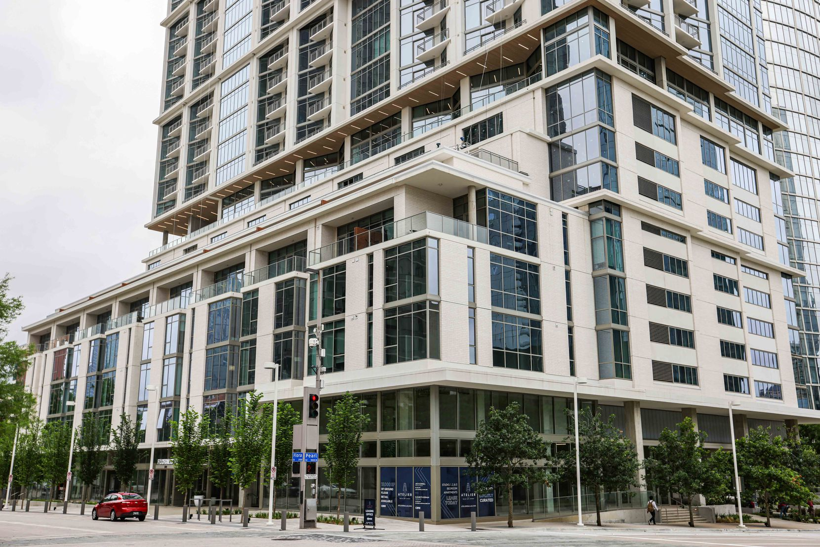 Atelier Tower in downtown Dallas