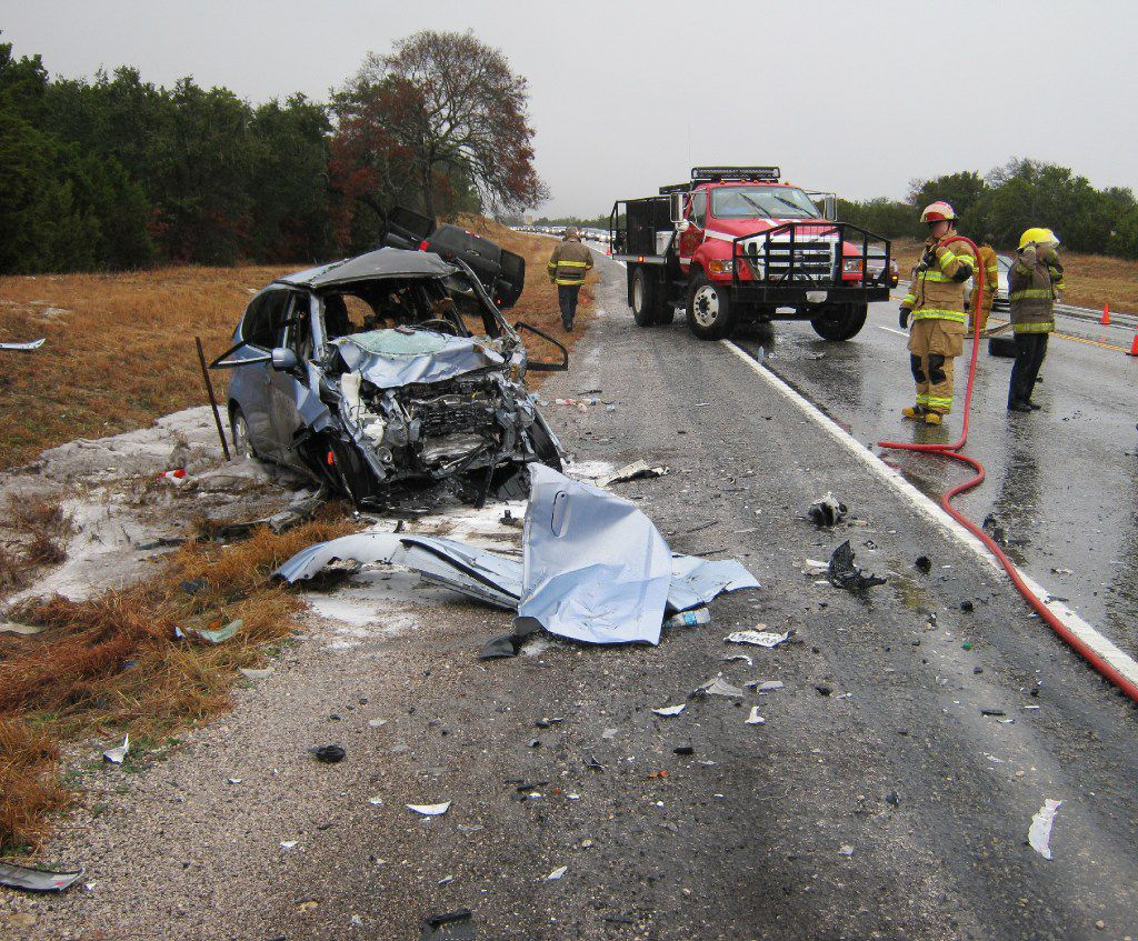 Marcia and Matthew Seebachan were on their way to spend the 2013 Christmas holiday with family in the Texas Hill Country when a Toyota Tundra pickup truck hydroplaned into the path of their 2010 Honda Fit.