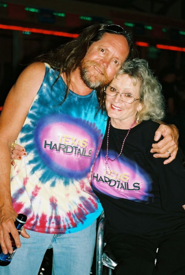 Rick Fairless and his reality truTV star mother, Sharon Fairless, who ran his bar until her death in 2015, at the Sturgis Motorcycle Rally in Sturgis, S.D. in 2005.
