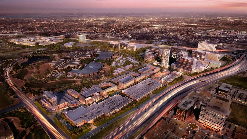 Legacy West will have more than 20,000 workers and thousands of residents when finished.