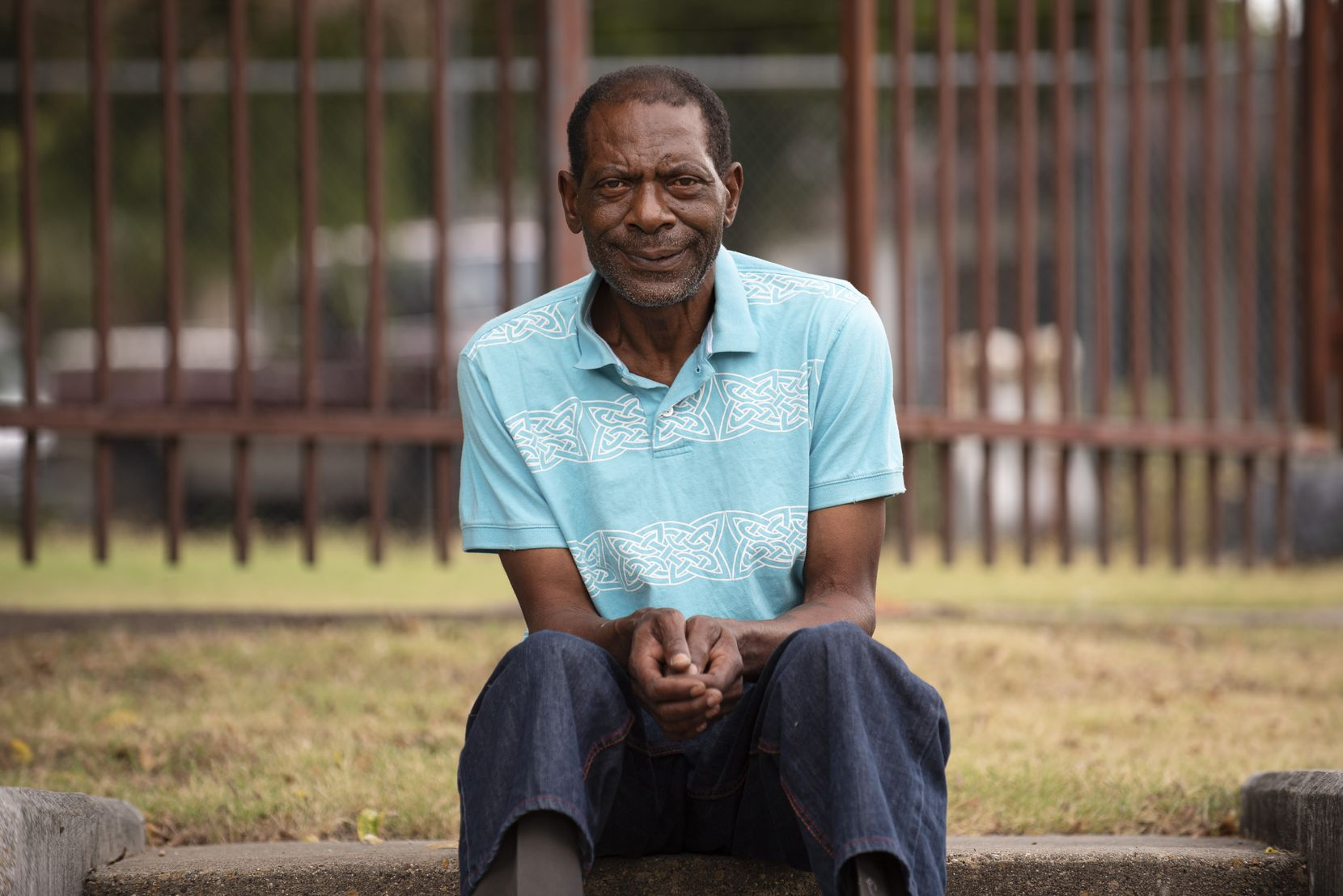 Otho Jones, a MetroCare client, was photographed outside the Lancaster clinic Aug. 26. Jones was homeless when he was picked up by the RIGHT Care team. Since then, Jones receives daily check-ins with his caseworker and has gotten back on his feet. Ben Torres/Special Contributor