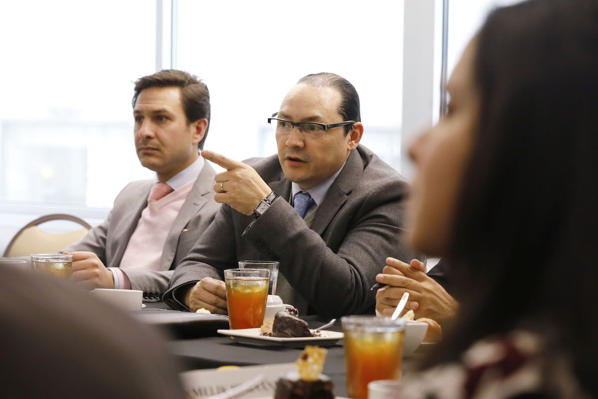 Fernando Marti y Francisco de la Torre. (David Woo/The Dallas Morning News)