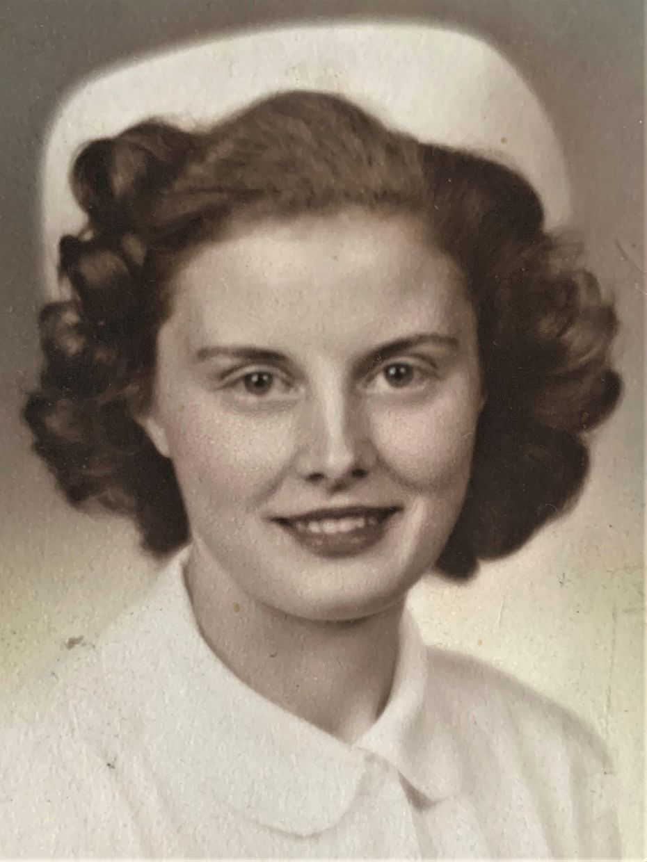 Svanbjorg Leola Magnusson, who went by Maggie, served in the U.S. Army Nurse Corps in the 1940s.