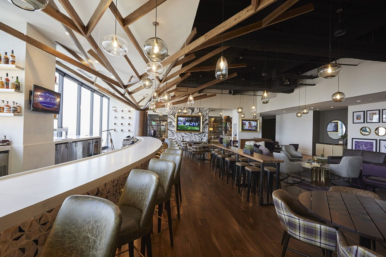 The Tower Club on Elm Streets has gotten a makeover.