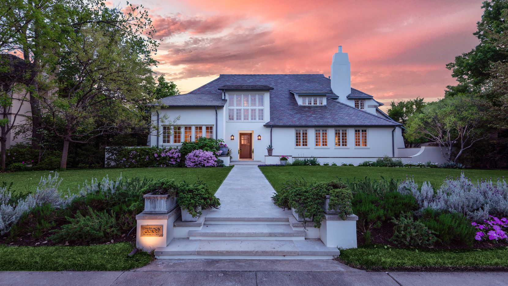 The Highland Park house was built in 2001 and designed by architect Scott Merrill.