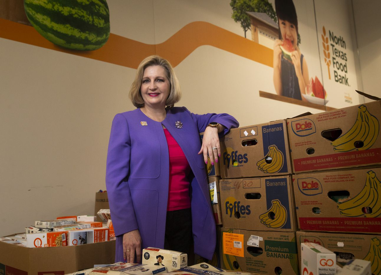 Trisha Cunningham is CEO and president of the North Texas Food Bank.