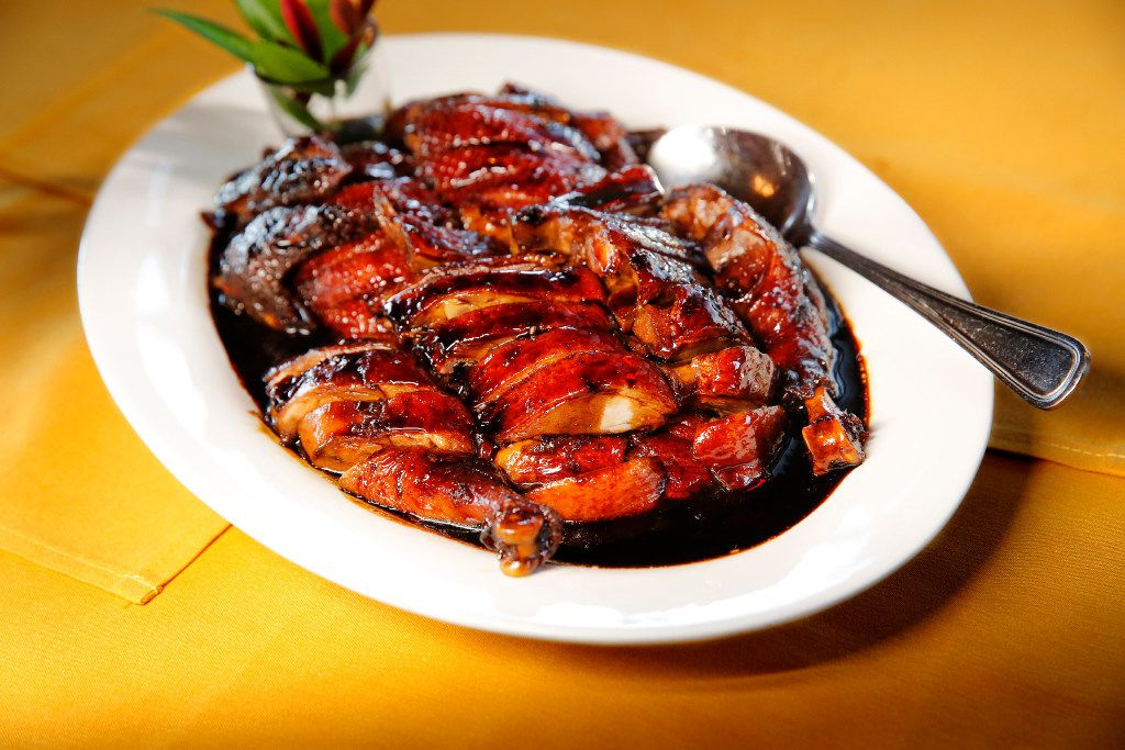 Marinated duck with brown sauce at Fortune House  (Tom Fox/Staff Photographer)