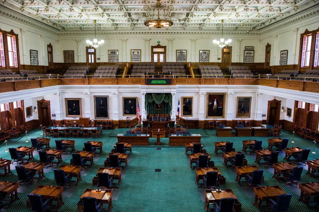 The Texas Senate on July 17 at the Texas state capitol in Austin.