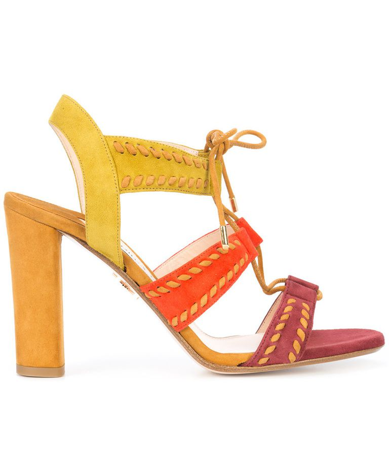 Forty Five Ten's Mothership shop features shoes from Andrea Gomez, including the Betty sandal for $850.