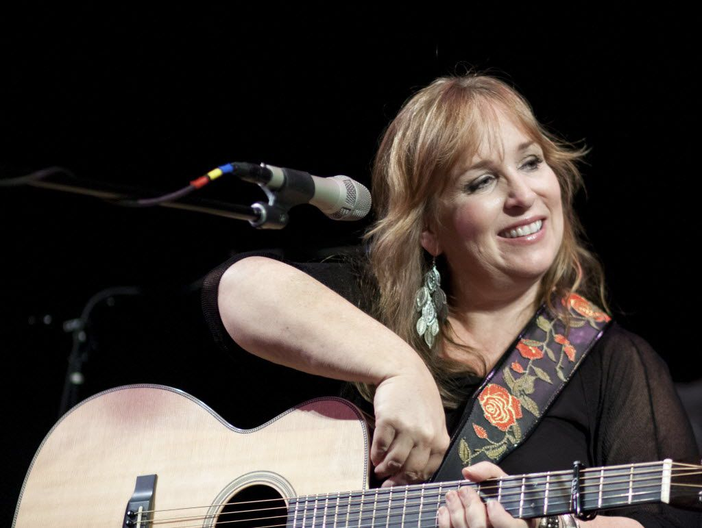 """Singer-songwriter Gretchen Peters, whose songs """"Revival"""" and """"On a Bus to St. Cloud"""" were covered by Jimmy LaFave."""