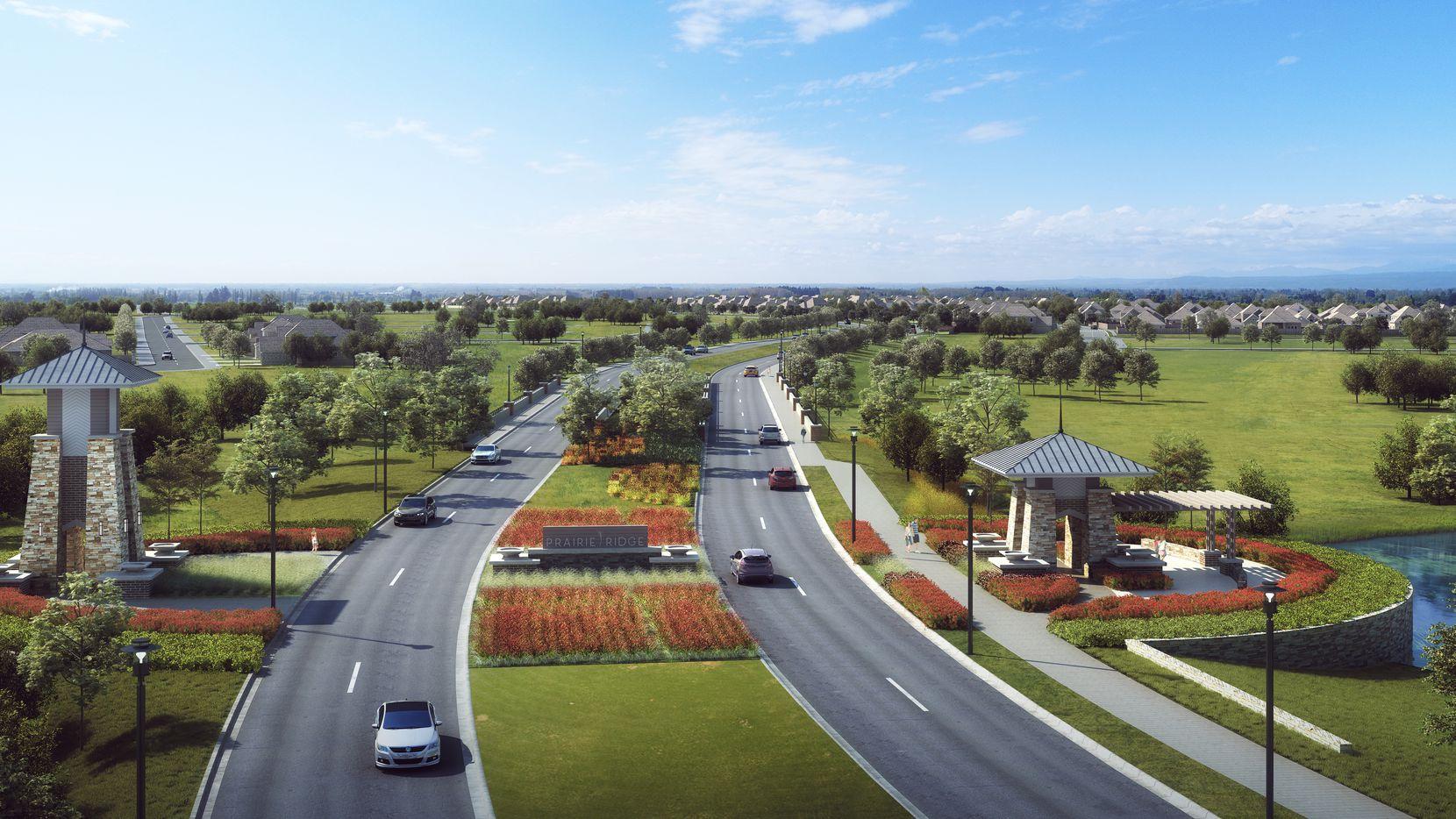 Prairie Ridge will eventually have more than 4,000 homes.