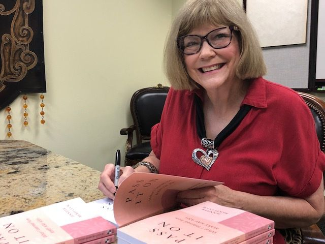 Jennifer Bickel Cook's book Pass It On is already sold out but could soon become part of a legal fight with Mary Kay Inc.
