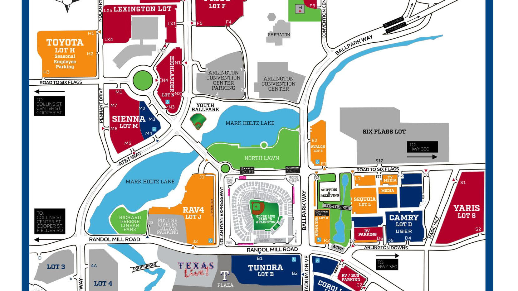 What Rangers Fans Need To Know About Parking At Globe Life Park