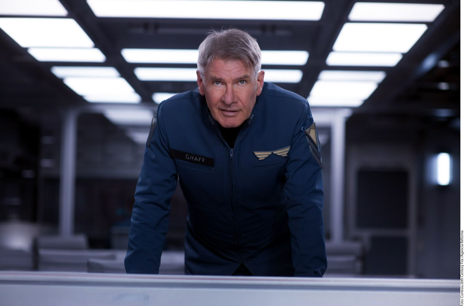 El actor Harrison Ford. AGENCIA REFORMA