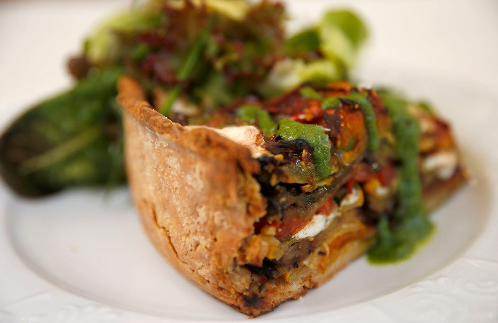 Billy Can Can will also cater to vegetarians, with dishes like this summer pie.